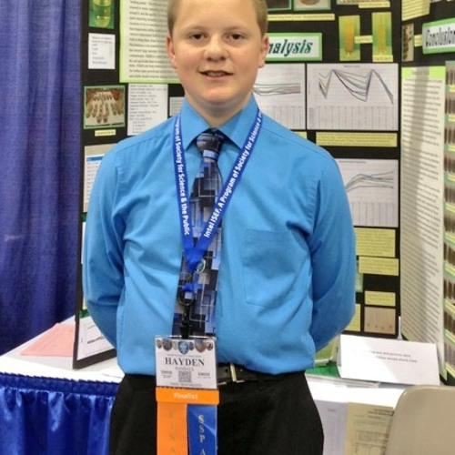 Hayden Randall - 2013 Intel ISEF Finalist