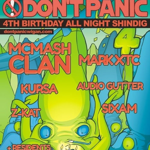DJ Danny Intro - Don't Panic 4th Birthday Set (Re-Visited) - Saturday 11th May 2013