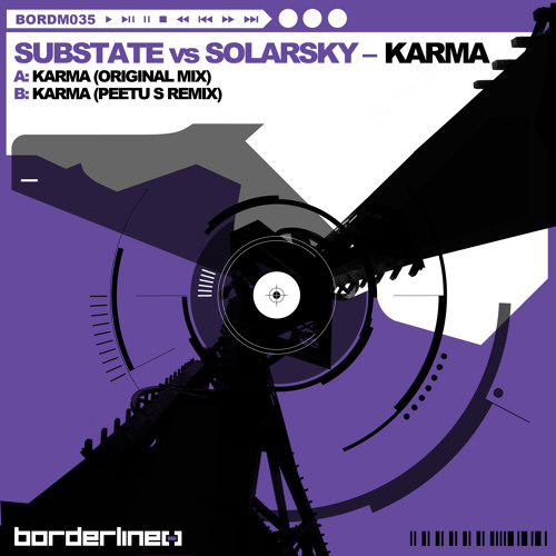 Substate vs Solarsky - Karma (Original Mix)