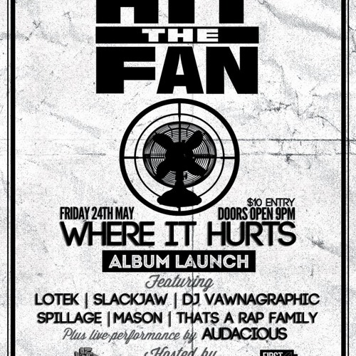 Hit The Fan - Where It Hurts LP Preview