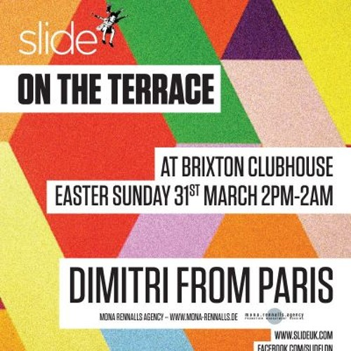 Dimitri From Paris @ Brixton Clubhouse, London for Slide On The Terrace March 31 2013 Part 1