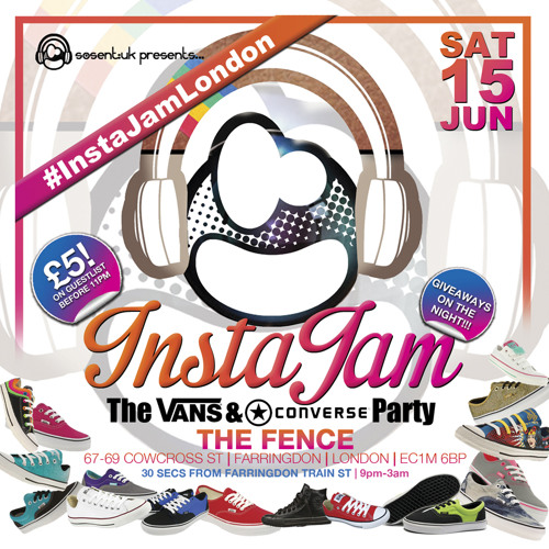 InstaJam House Mix June 15th @The Fence, Farringdon