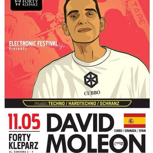 Lukash Andego - live @ Electronic Festival with David Moleon 11.05.2013 - Forty Kleparz, Kraków