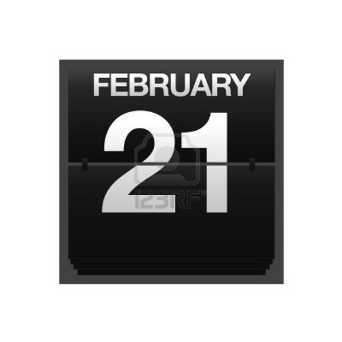 February 21, 2012 - an important date in history