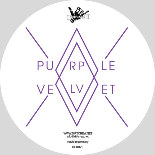 Purple Velvet - Death Of The Warehouse EP [Dirt Crew] Out Now!