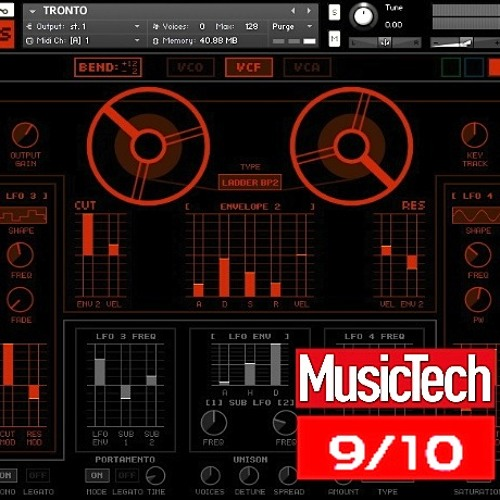 Tronto - tape saturated polysynth for kontakt 5