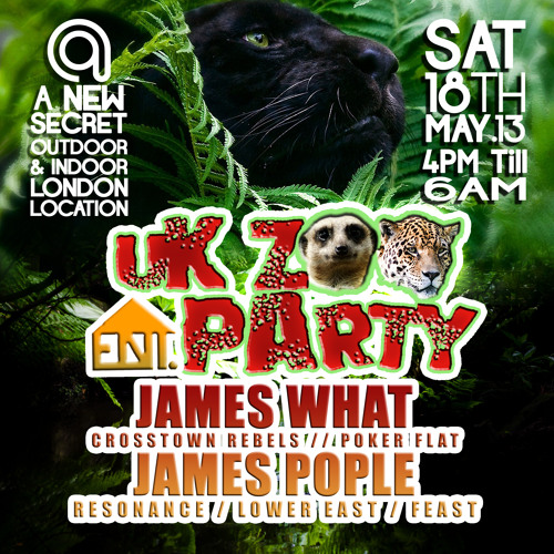 Anticx @ #UKZooParty - Coronet Theatre - 18/05/13