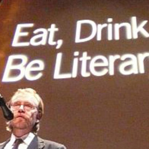 George Saunders and Aoibheann Sweeney, 2008 Eat, Drink & Be Literary