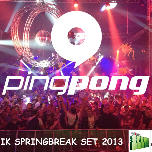 PINGPONG @ SPUTNIK SPRINGBREAK 2013 - DUSTED DECKS TENT - FREE DOWNLOAD