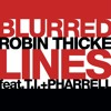 Robin Thicke - Blurred Lines (Justin Sane Bootleg)