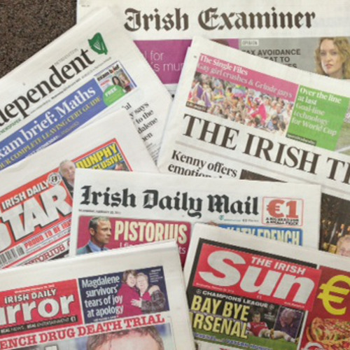 Morning Ireland: It Says In The Papers