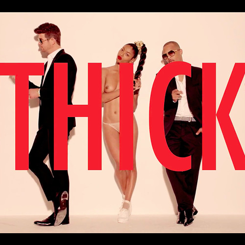 Robin Thicke feat. Pharrell & T.I - Blurred Lines (Laidback Luke Remix)