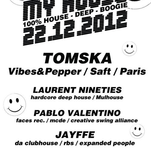 SAFT Live - My House@Rafiot Club Strasbourg :: Tomska [22.12.2012]