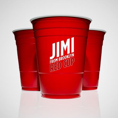 JIMI from Brooklyn- Red Cup
