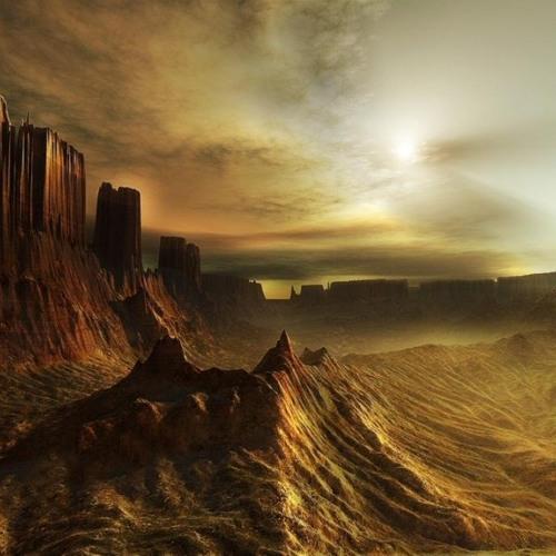 Dawn on Mars