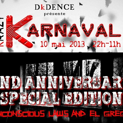 ULaws @ KrazyKarnaval & 2nd DarkBeatFactory B-Day (May 2013) - SNIPPET - Link Inside