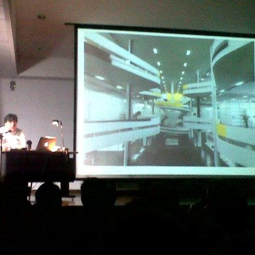Conferencia de Luis Perez Oramas en la Universidad Metropolitana 2013
