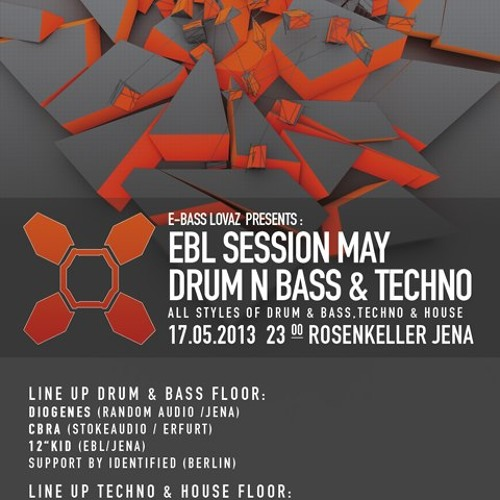 Diogenes, Identified & Monch MC - live @ EBL Session May 2013 | 17.5.2013 @ Rosenkeller, Jena