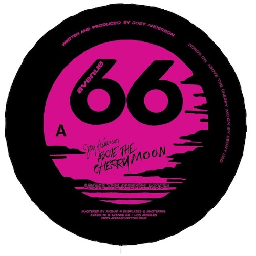 Joey Anderson - Above The Cherry Moon - Avenue 66