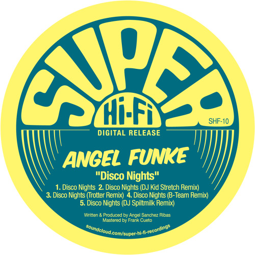 "Angel Funke ""Disco Nights"" (B-Team Remix)"