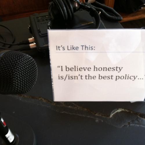 Honesty Policy - Megan Luke