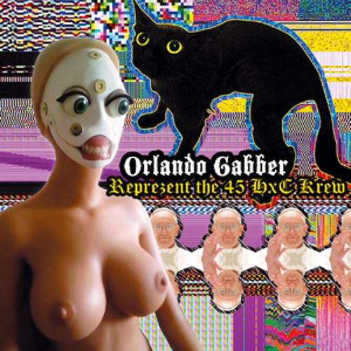 ORLANDO GABBER - Anticonform hiphopcore (feat MC Checy) - NKS prod 116