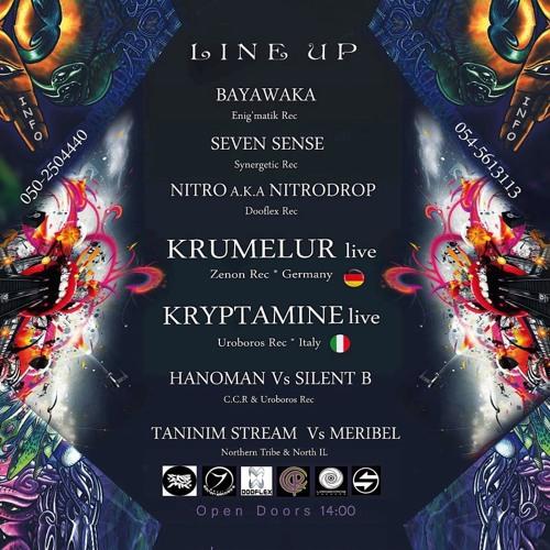 Krumelur Retrodelic Live @ Northern Tribe Israel 2013-04-27