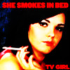 She Smokes in Bed