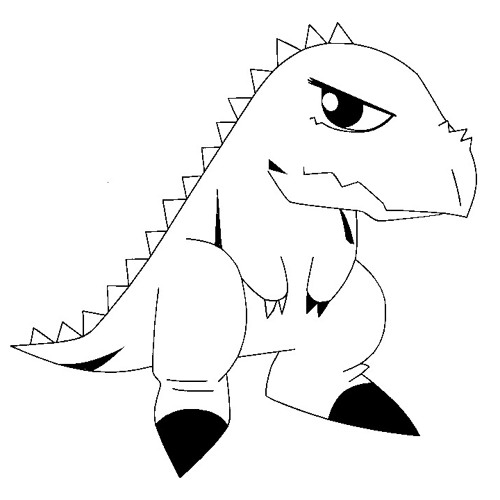 Dinosaur Beat (clin d'oeil)