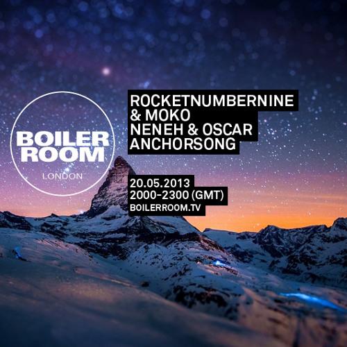 RocketNumberNine feat. Moko live in the Boiler Room