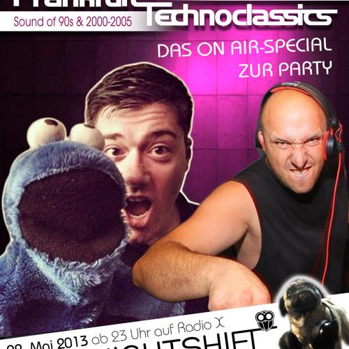 22-05-2013 - ToFa Nightshift | Technoclassics Special mit John Doe & Giuseppe Castani