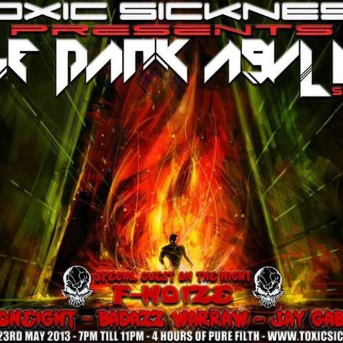JAY GABBER T ON TOXIC SICKNESS   DARK ASYLUM EPI #5   HARD TECHNO TERROR SPEEDCORE SET   23.05.13