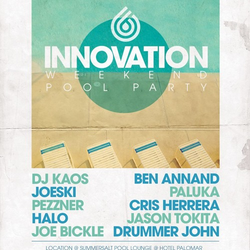 Ben Annand - Live at Innovation Pool Party - May 19, 2013 - San Diego - Palomar Hotel