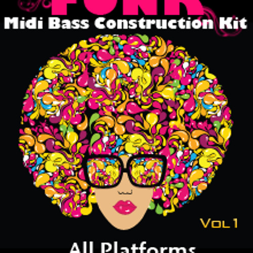 Funk Bass Lines Midi Construction Kit Vol 1