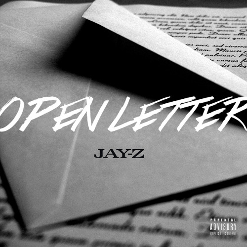 "JAY-Z ""OPEN LETTER""  (FREESTYLE) T-NYCE FT. M.G.  85 CONCEPT ENT. 2013"