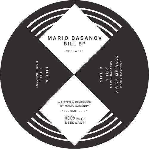 Mario Basanov - Give Me Back 12''