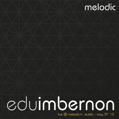 Edu Imbernon @ Melodic+ May 5th '13