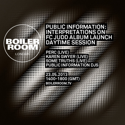 Perc LIVE in the Boiler Room