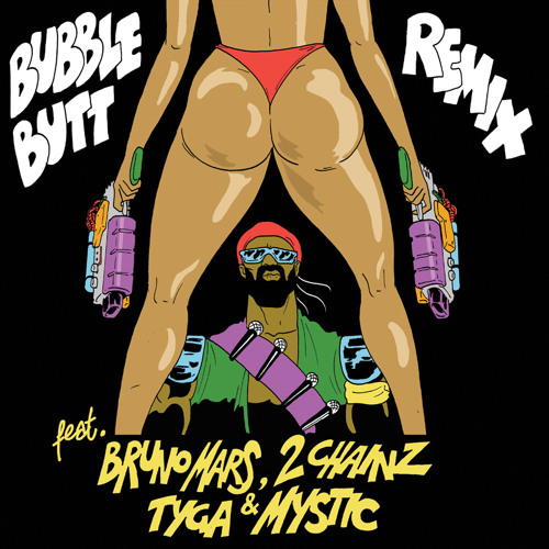 Major Lazer - Bubble Butt Remix (feat. Bruno Mars, 2 Chainz, Tyga & Mystic)