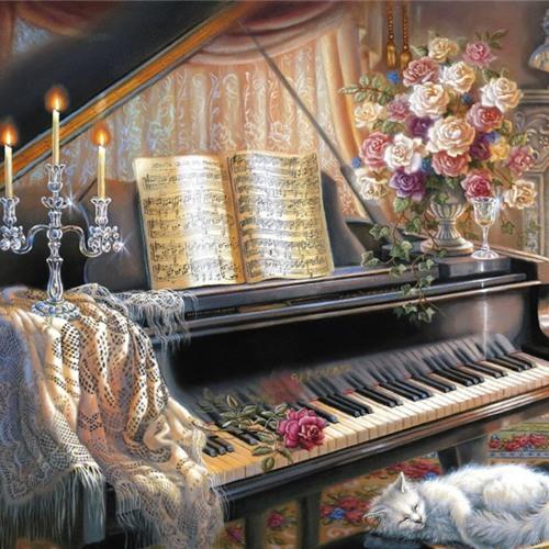 Bach - Prelude in C Minor, BWV 847, WTK I