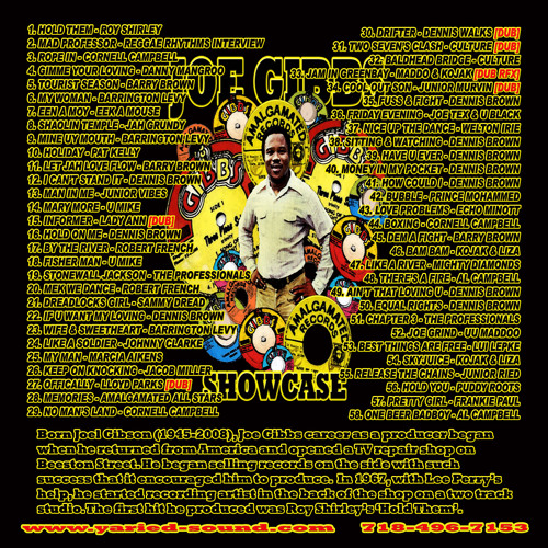 Joe Gibbs Showcase - Extended Edition