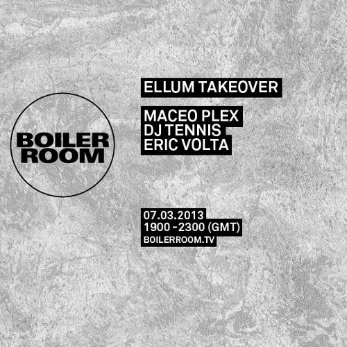 eric volta recorded live @ boiler room 07.march.2013