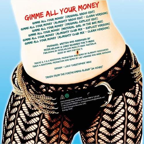Gimme All Your Money (Material Girl In The 80's Remix) - Sammy Paul - Snippet