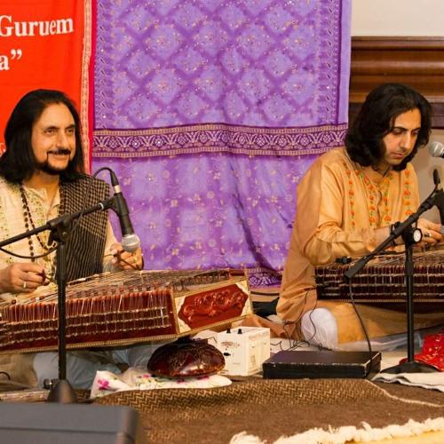 Pandit Bhajan Sopori, Abhay Rustum Sopori, Durjay Bhaumik in Olomouc, CZ, 2013 part 1