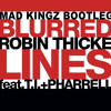 Robin Thicke feat. T.I. + Pharrell Williams - Blurred Lines (MAD KINGZ Coolness Bootleg)