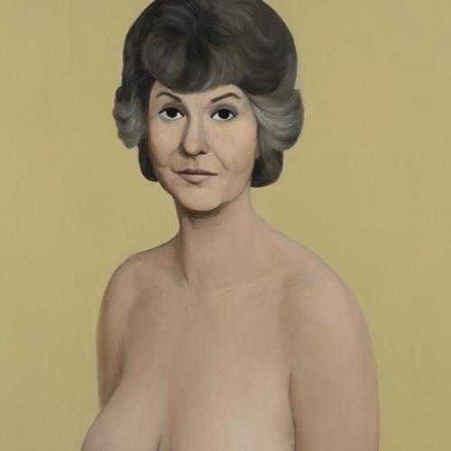 Bea Arthur naked painting