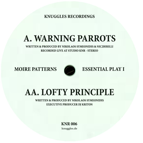 MOIRE PATTERNS - ESSENTIAL PLAY I - KNR 006