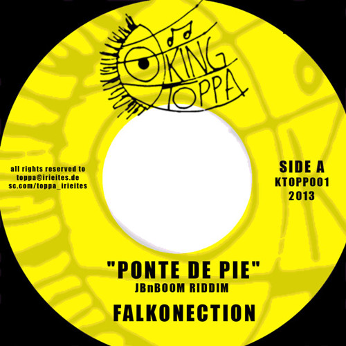 JBnBOOM RIDDIM- Falkonection el Amansador - Ponte de Pie