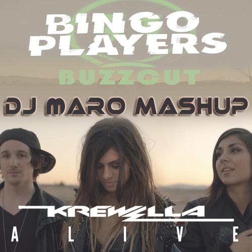 Dj MarO Vs Bingo Players Vs Krewella - Buzzcut Vs Alive (Mashup)