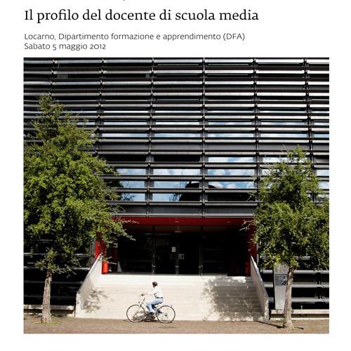 Sintesi dei lavori pomeridiani - Giampaolo Cereghetti
